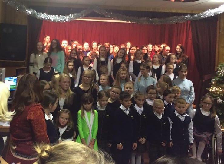 Šventinis koncertas vaikų globos namuose