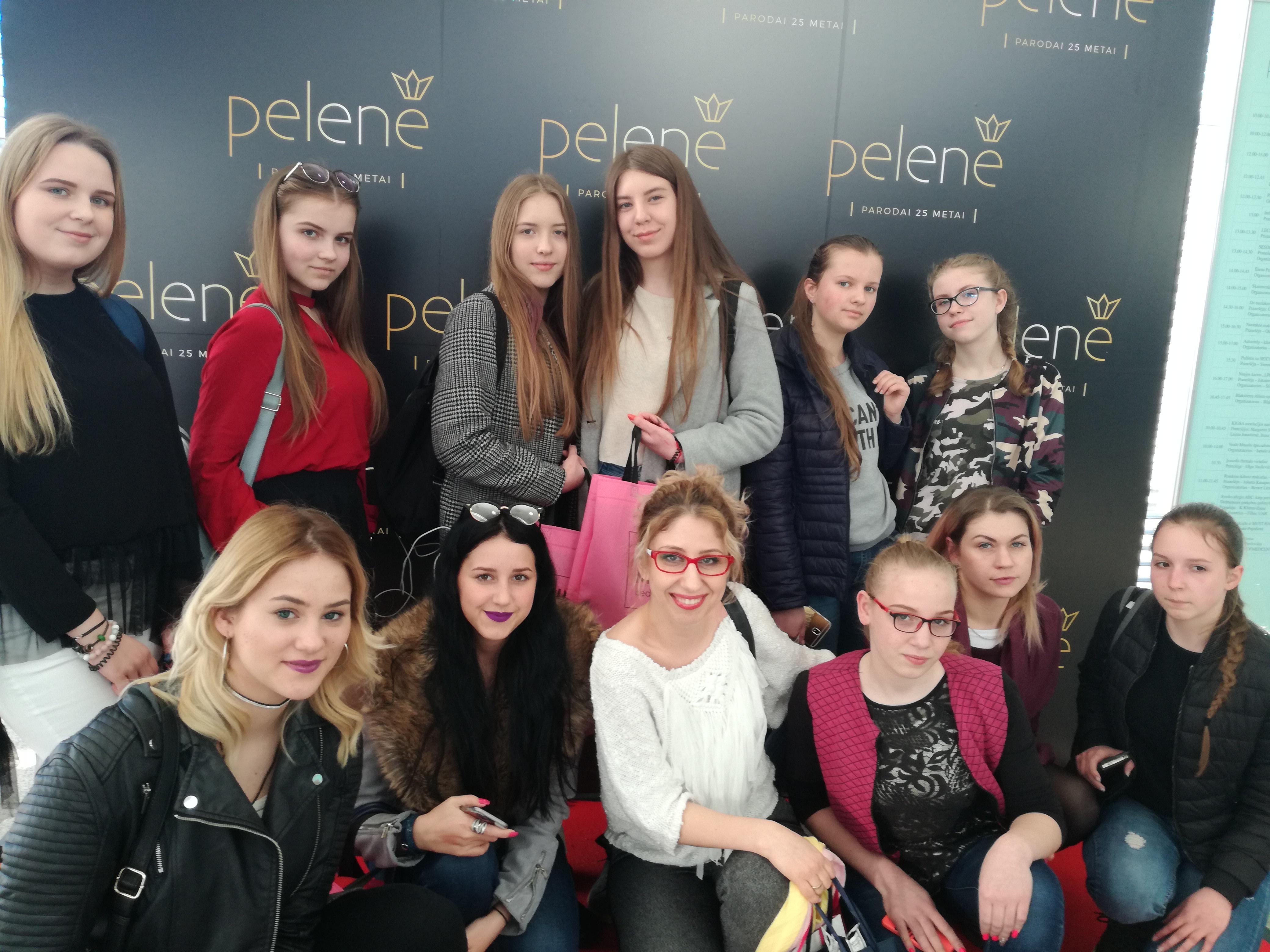 """Grožio ir sveikos gyvensenos studijos """"Femina Laeta"""" išvyka į parodą """"Pelenė 2018"""""""