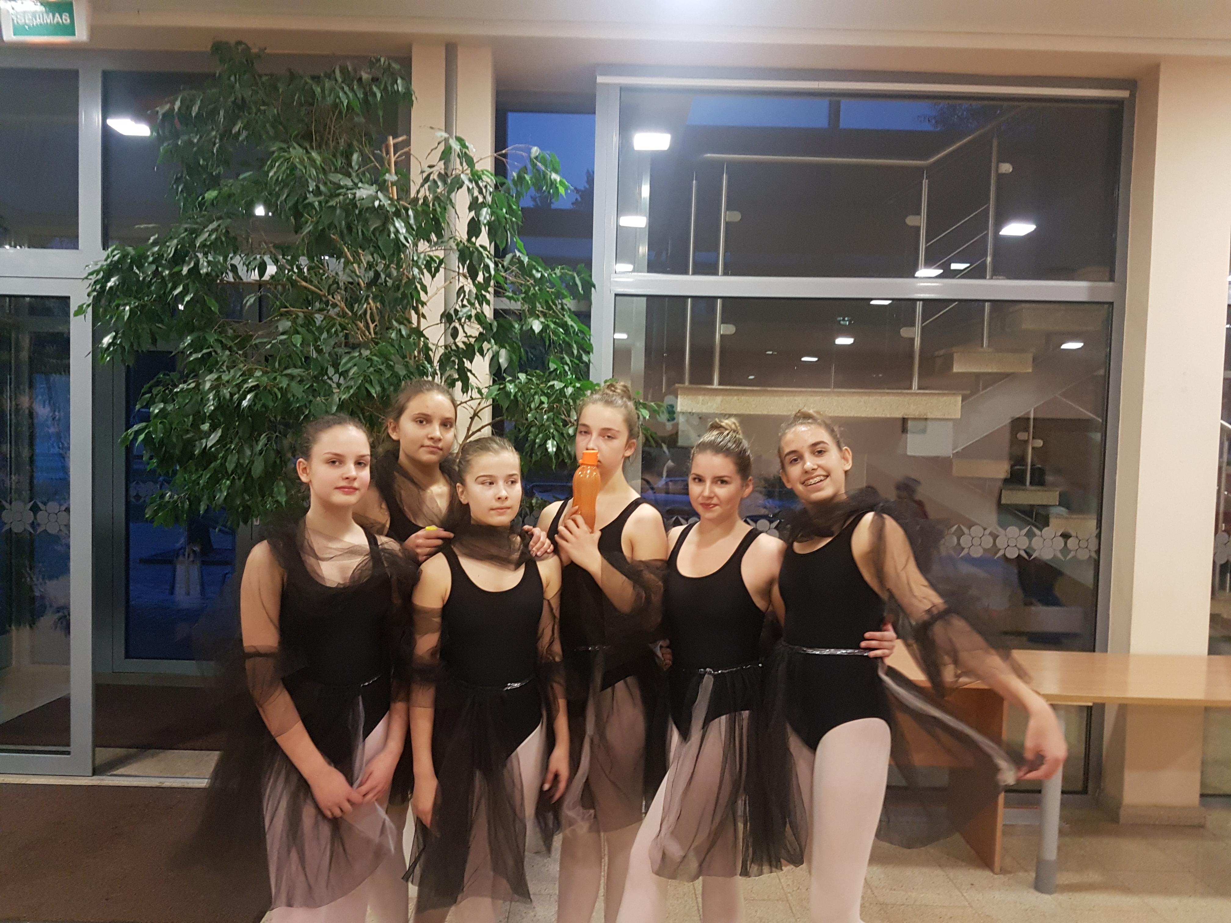 Savaitgalis Alytaus jaunimo centro balerinoms buvo sėkmingas