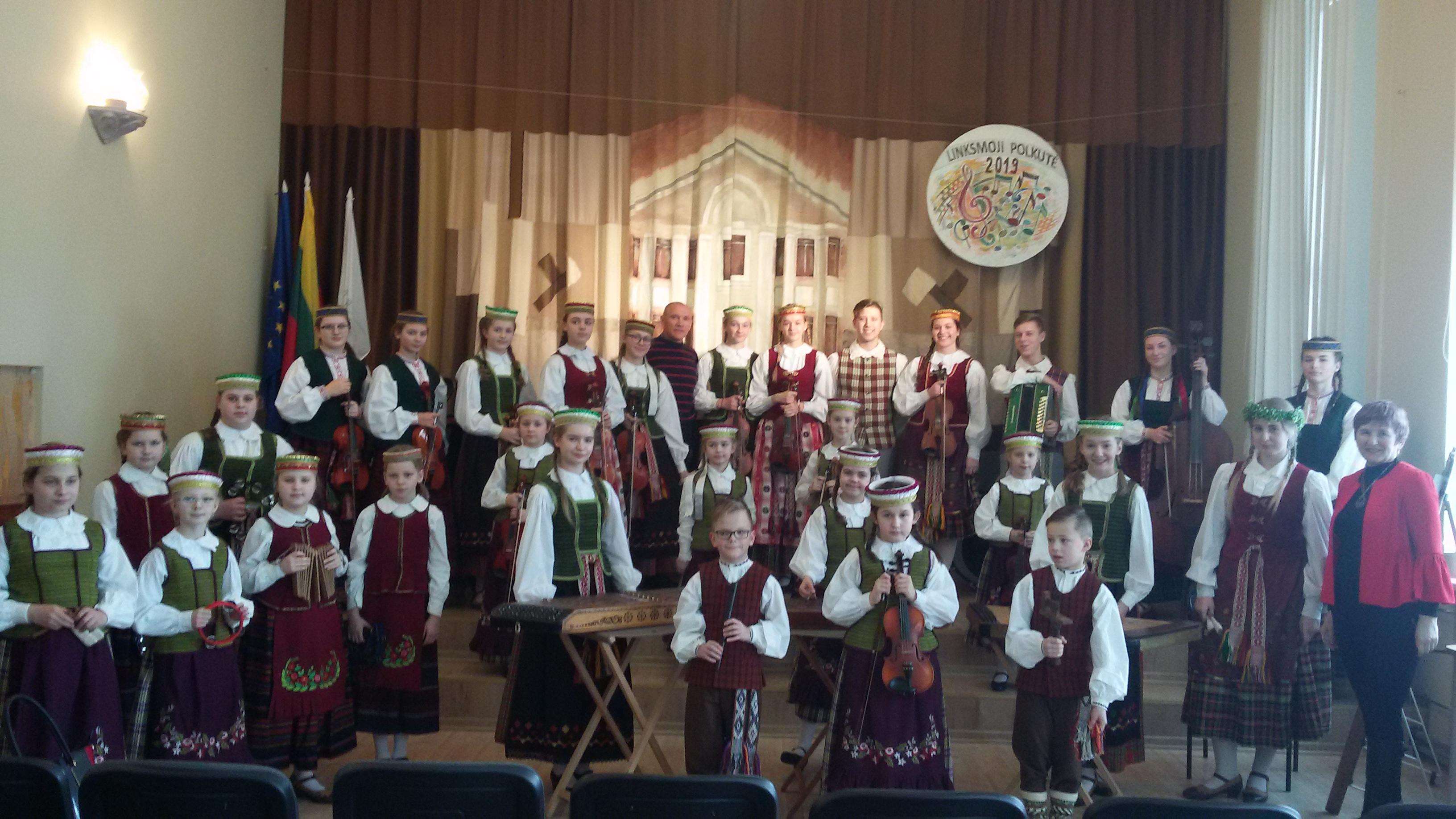 """""""Tarškučio"""" muzikantai – """"Linksmosios polkutės"""" konkurso laureatai"""