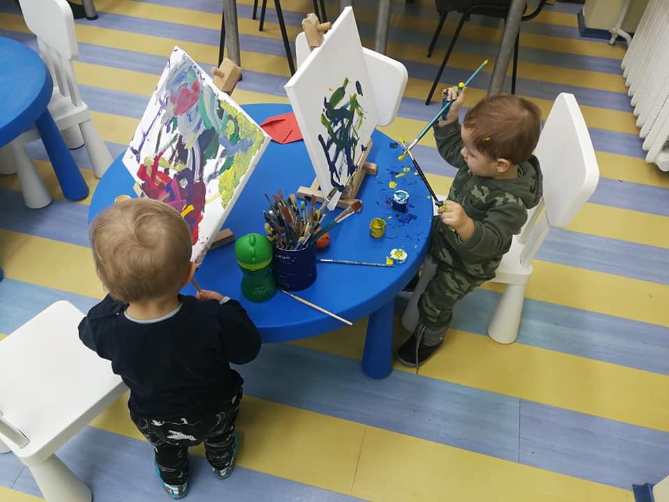 """Alytaus jaunimo centras įgyvendino projektą """"Mamos ir mažylio studija"""""""