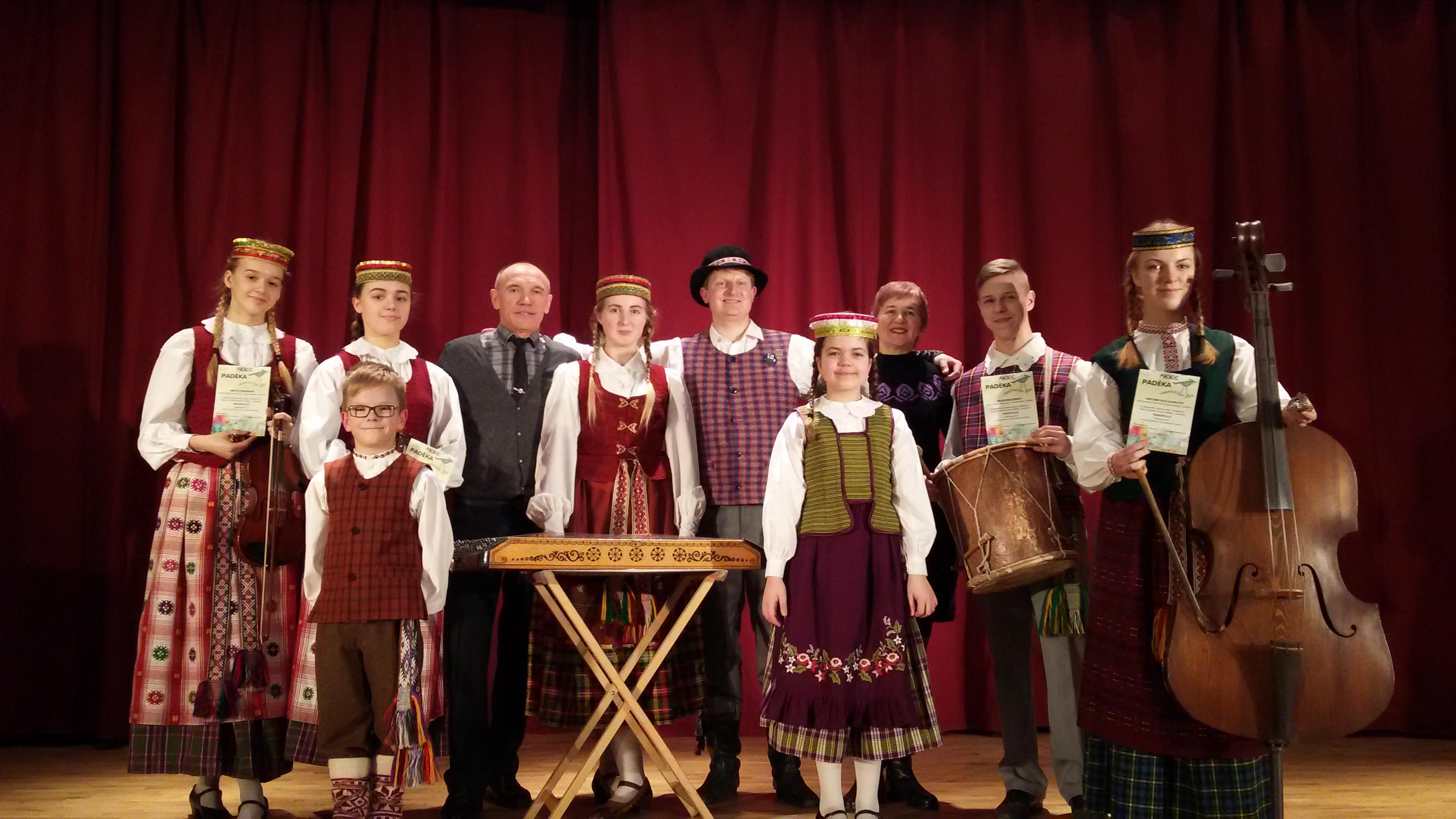 """""""Tarškutis"""" dalyvavo Lietuvos vaikų ir moksleivių lietuvių liaudies kūrybos atlikėjų konkurse """"Tramtatulis"""""""