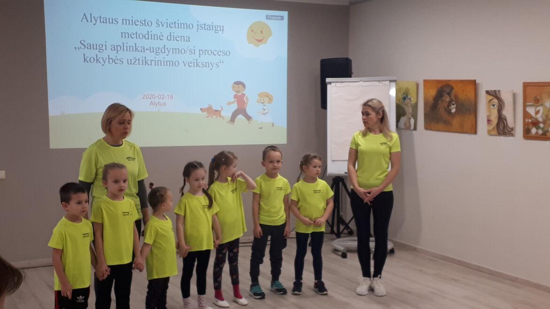 Miesto pedagogų metodinė diena Alytaus jaunimo centre