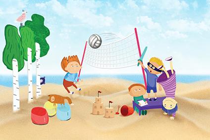 """Dieninė vaikų vasaros poilsio stovykla """"Sveika, vasara"""""""