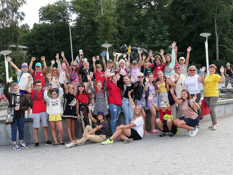 """Alytaus jaunimo centro ugdytiniai dalyvavo stovykloje """"Gera būti kartu"""""""