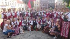 """Dainų ir šokių ansamblio """"Tarškutis"""" gastrolės Lenkijoje"""