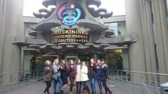 """Dainų ir šokių ansamblio """"Tarškutis"""" merginų grupė lankėsi Druskininkuose!!!"""